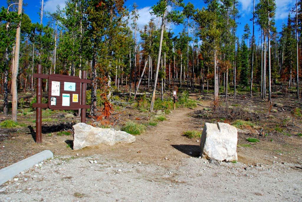 Glen Lake Trailhead