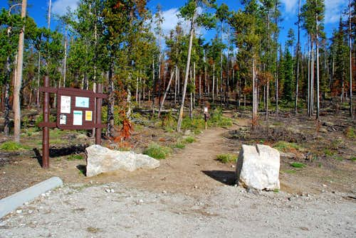 Glen Lake Trailhead