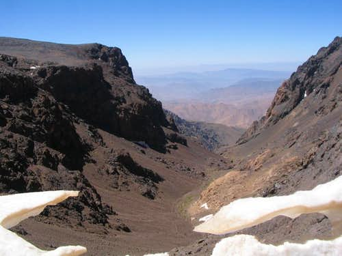 View from col