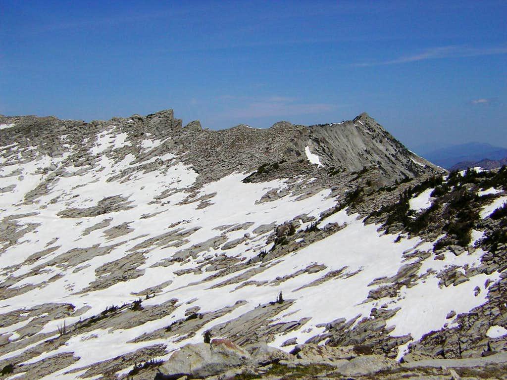 Southwestern slopes of Lightning Ridge