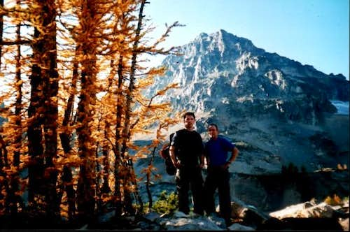 October 5, 2003. Larch trees...