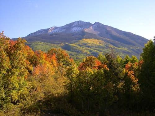 West Beckwith Mountain from...