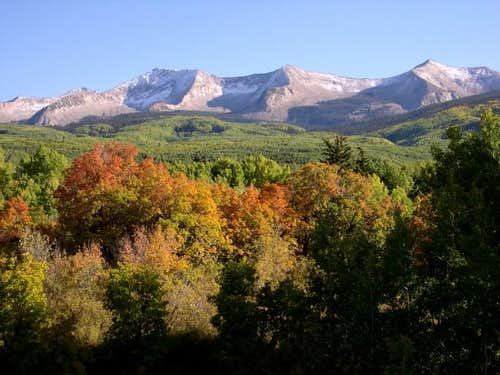 East Beckwith Mountain from...
