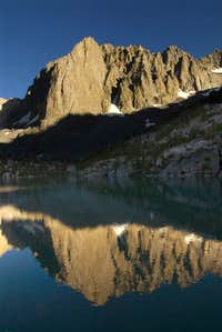temple crag reflecting