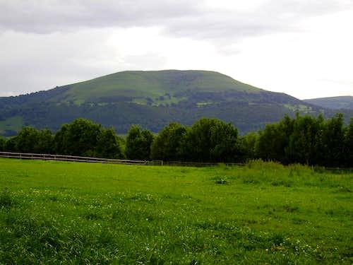 Blorenge From Near Abergavenny