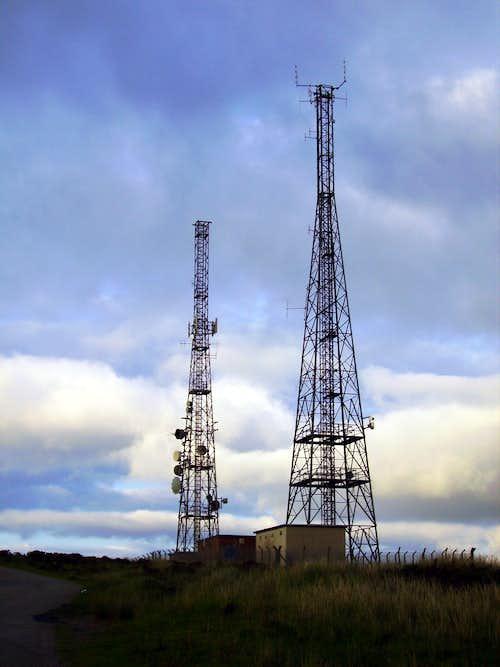 Cefn y Galchen Police Towers
