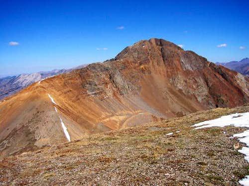 Mount Owen from Ruby Peaks...