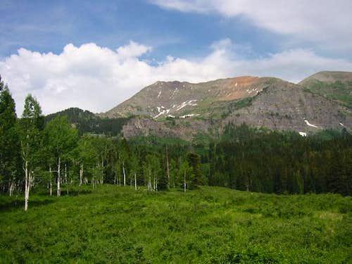 Mount Owen from Silver Basin...