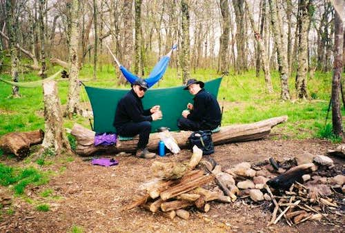 Spring Camping @ Sheep Pen Gap