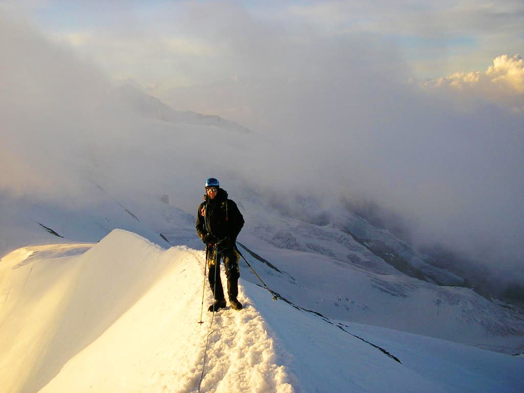 Breithorn Ridge