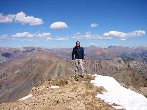 Jon Bradford on Mount Owen\'s...