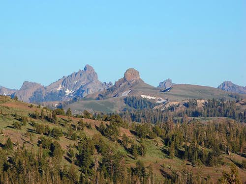 Jeff Davis Peak in the center