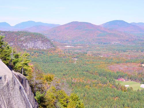 Cathedral Ledge in Fall