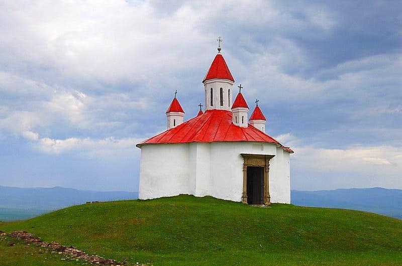 Chapel on Perko, Transylvania