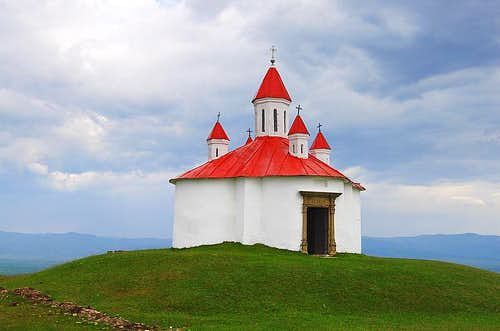 Chapel on Perko, Transylvania