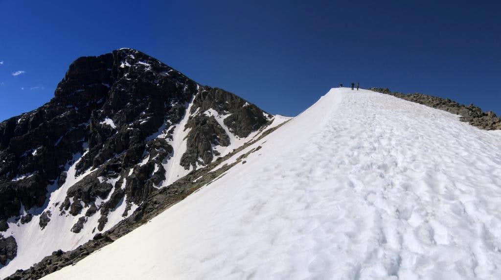 Mount of the Holy Cross, from the North Ridge