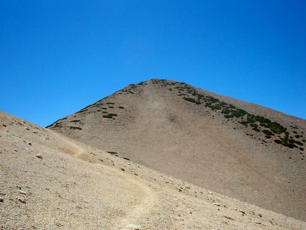 Freel from the ridge