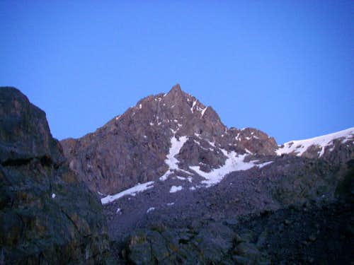 Alpenglow on Mt of the Holy Cross