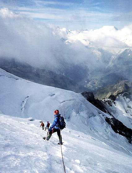 Grüebu Glacier Fletschhorn