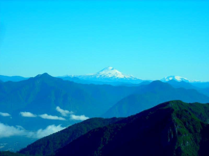 Volcan Llaima (3050m)