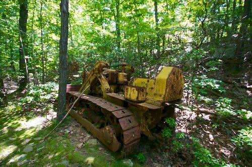 Abandoned Bull Dozer
