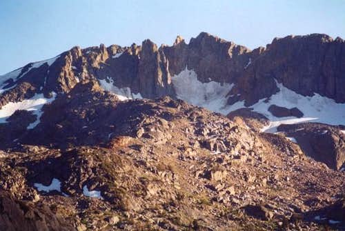 North face of Forsyth Peak,...