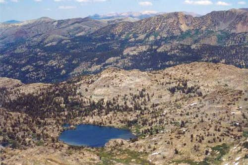 Lake Helen from Forsyth Peak