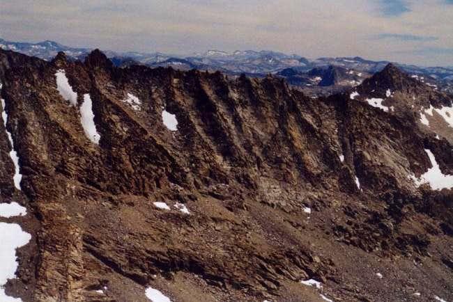 Saurian Crest from Forsyth Peak