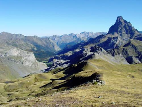 The Pic du Midi d\'Ossau over...
