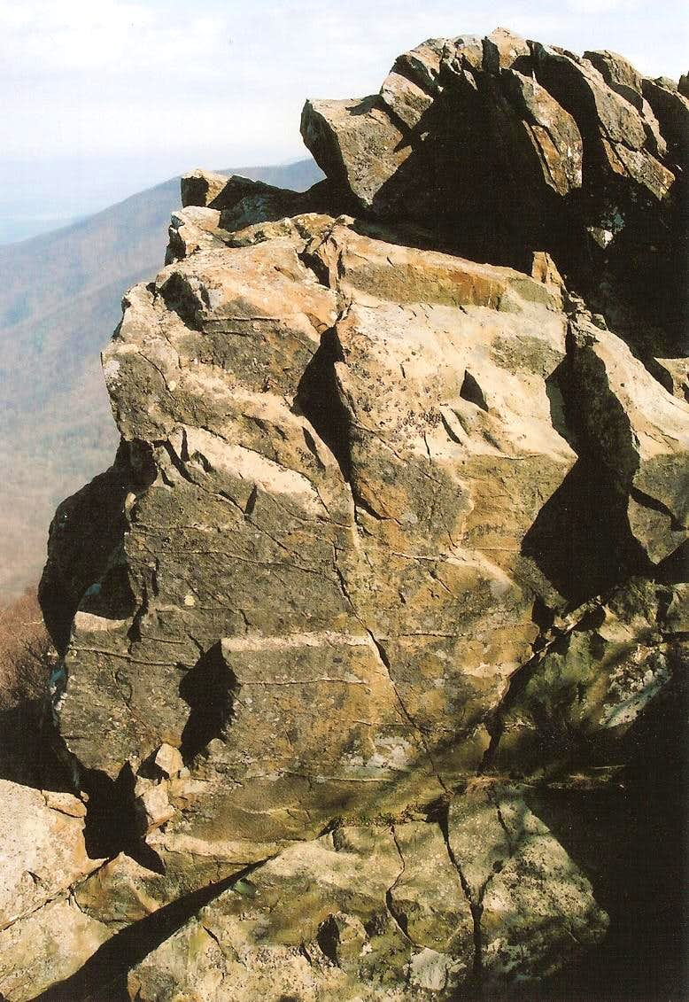 Hawksbill Crags