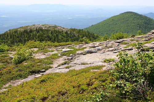 Eastman Mtn from S. Baldface