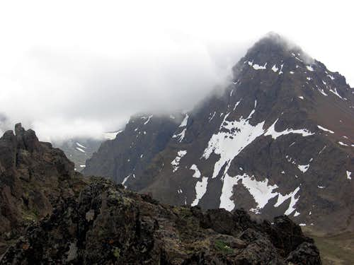 Ptarmigan Peak in June