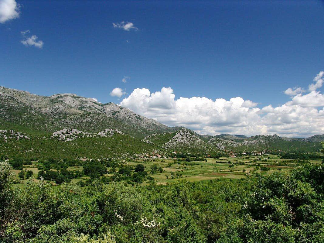 Žaba mountain in Herzegovina region, just few kms off the Adriatic coast