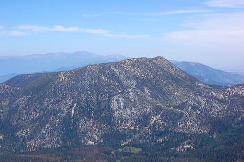 Monument Peak from Freel Peak