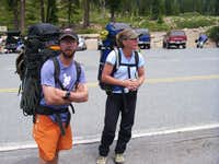 our guides Doug and Kaysa