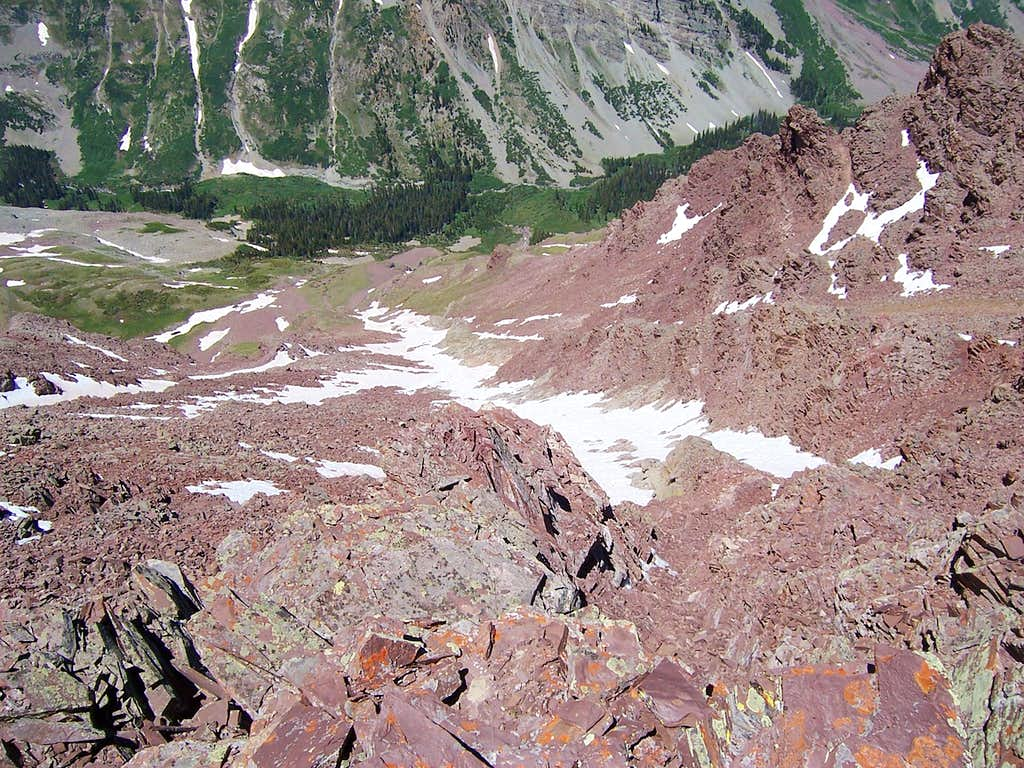 The White Gully