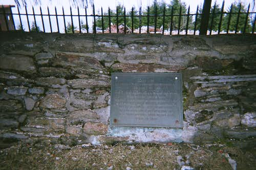 Father Mitchell\'s Grave