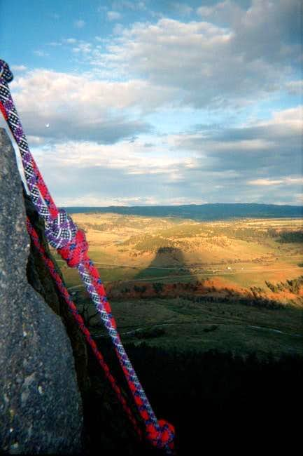 Time to rappel, watch out for...