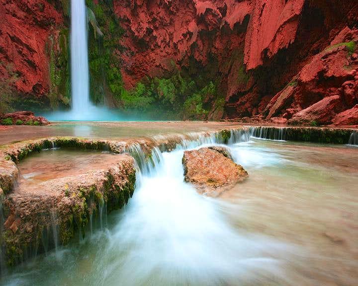 Below Mooney Falls