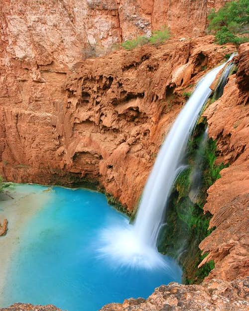 Mooney Falls Portrait