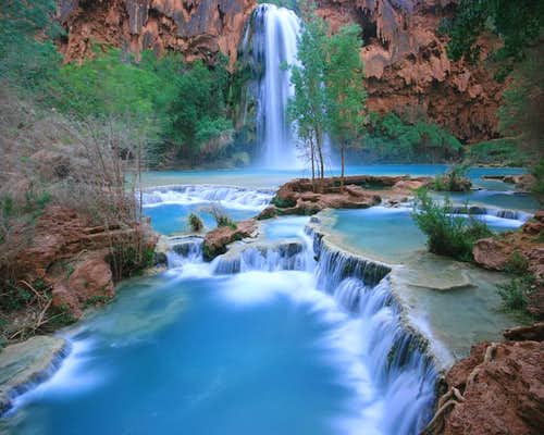 Lazy Days at Havasu Falls