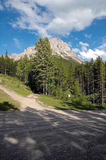 Crowsnest Mountain Trailhead