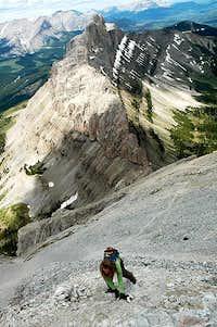 Crowsnest Mountain Scrambling