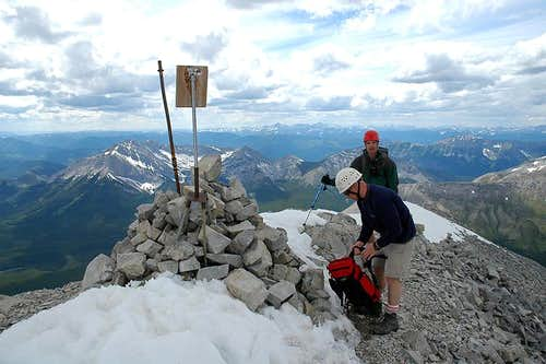 Crowsnest Mountain Summit
