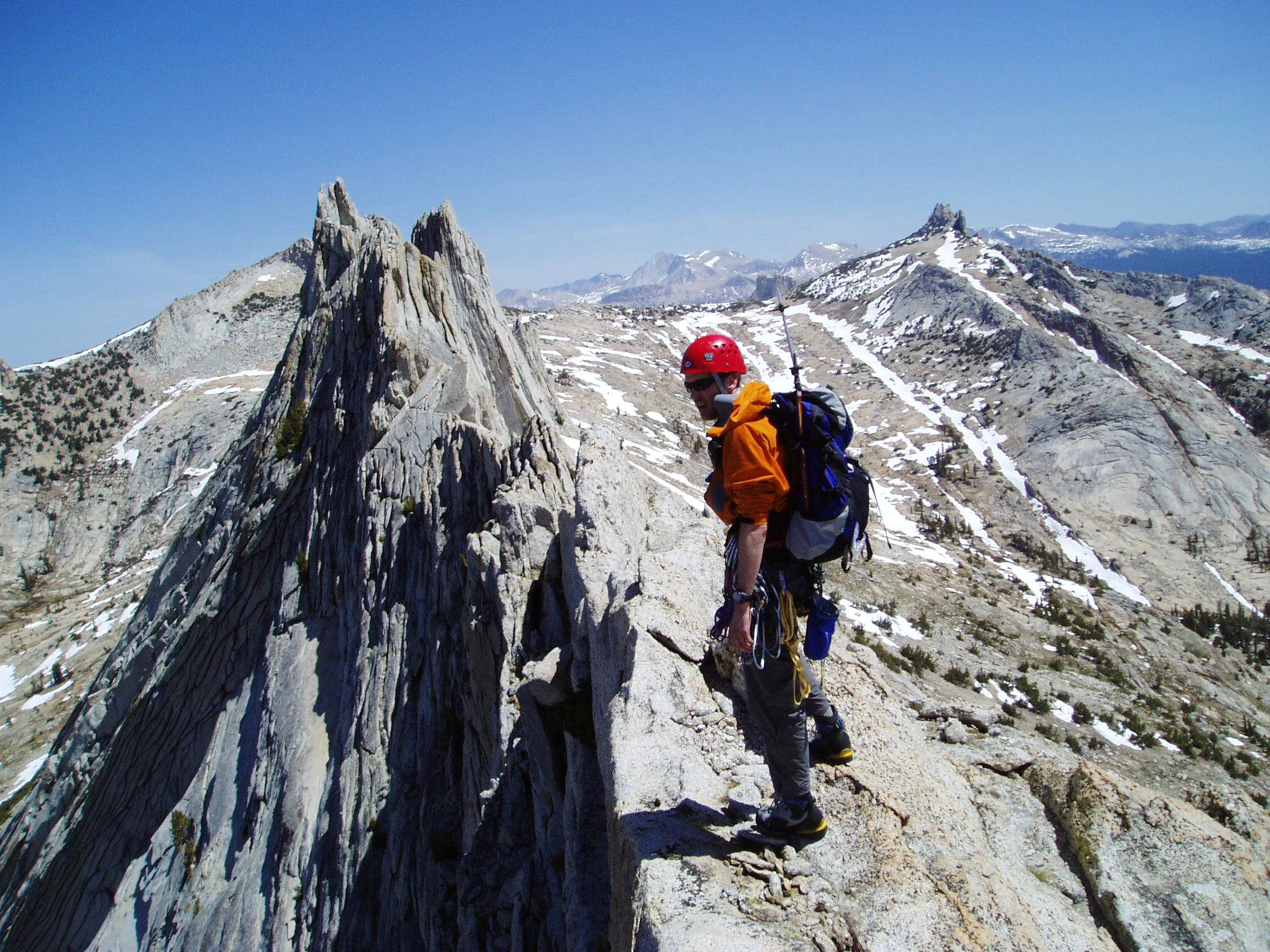 Isolation and Exhilaration on Matthes Crest
