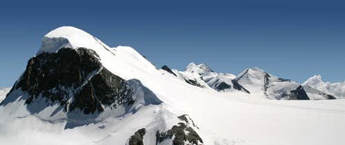 Breithorn, Castor and Pollux