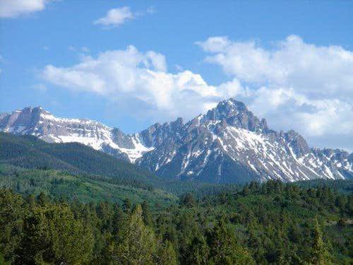 Mt. Sneffels Climb and Ski/Board Descent