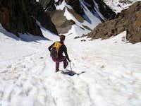 Descending Mt. Sneffels