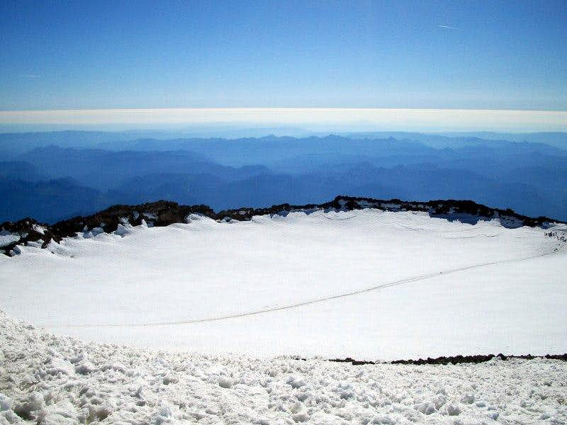 Rainier Summit Crater
