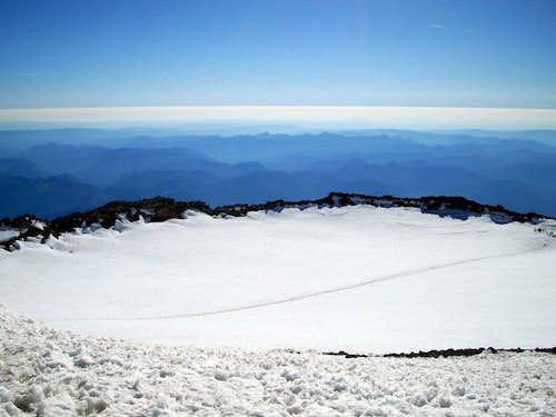 Rainier Summit Crater